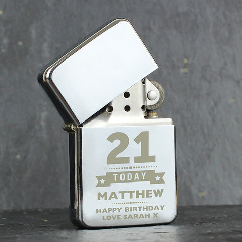 Buy Personalised Birthday Star Lighter