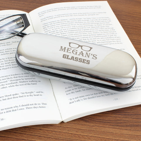 Buy Personalised Glasses Motif Glasses Case