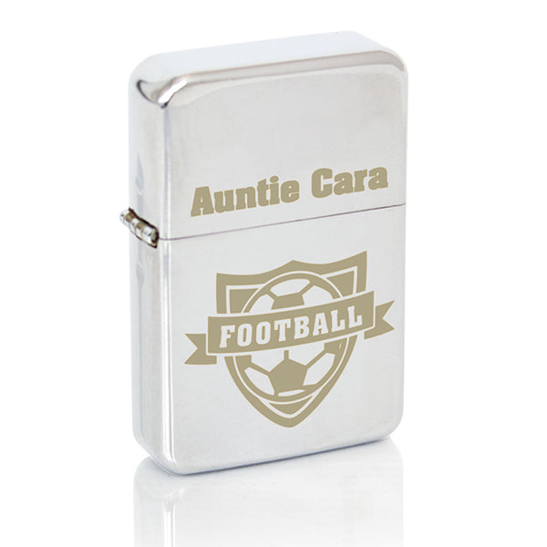 personalised-football-lighter