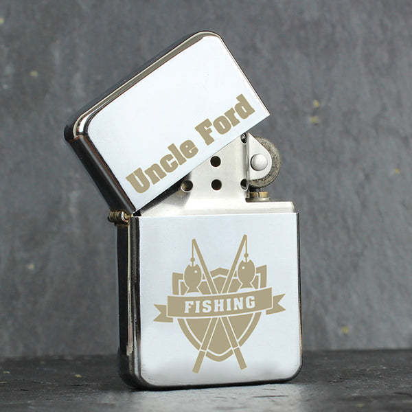 Personalised Fishing Lighter