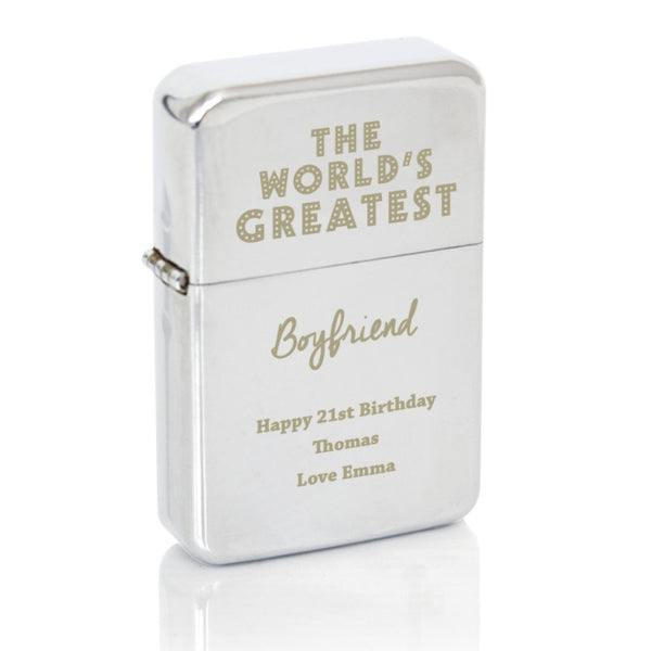 personalised-the-worlds-greatest-silver-lighter