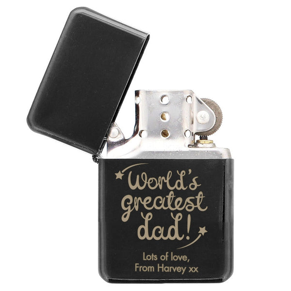 personalised-worlds-greatest-dad-black-lighter