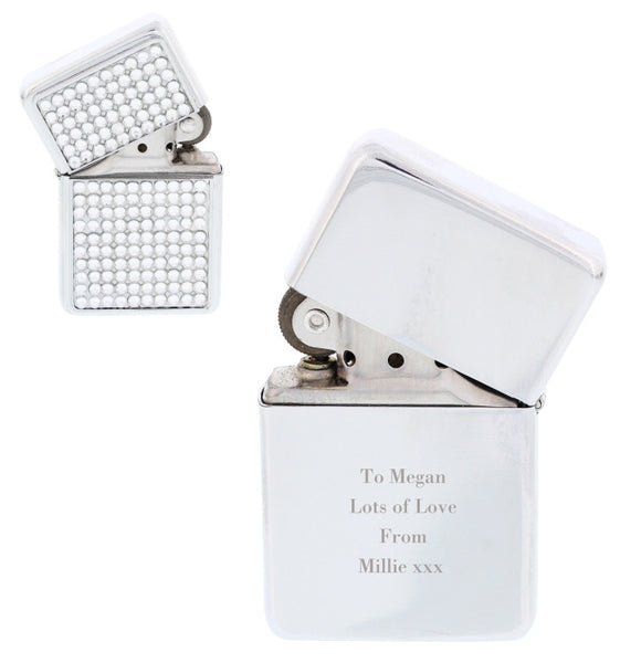 personalised-any-message-diamante-lighter