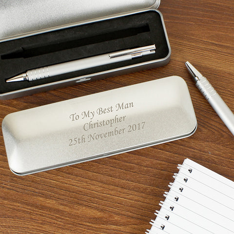 Buy Personalised 2 Pen Box Set