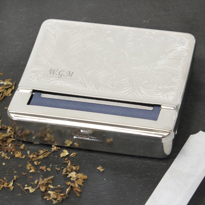 Personalised Tobacco Rolling Tin, Tobacco Products by Low Cost Gifts