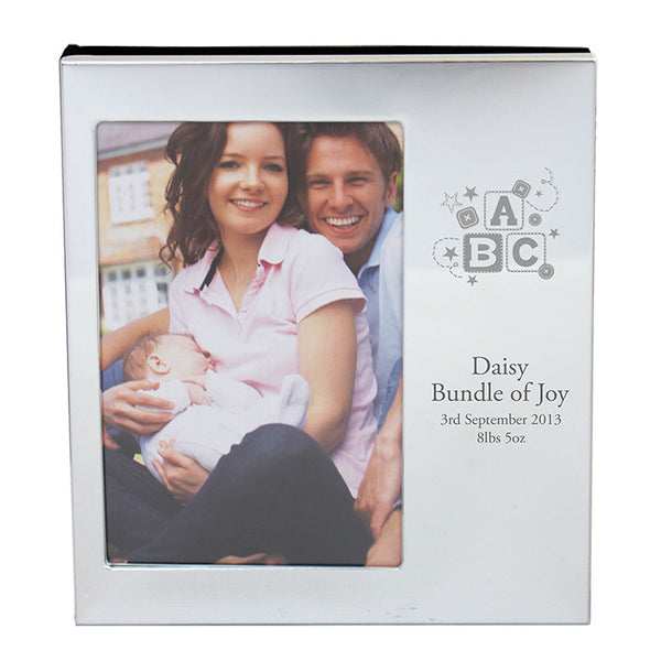 Personalised ABC Photo Frame Album 6x4 - Shane Todd Gifts UK