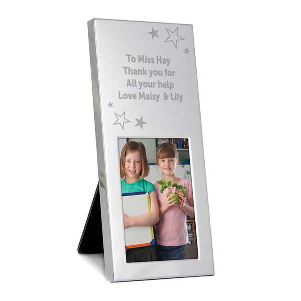personalised-stars-small-silver-2x3-photo-frame