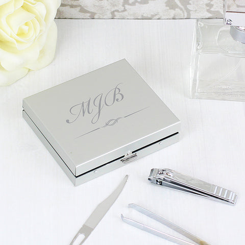 Initials Manicure Set | ShaneToddGifts.co.uk