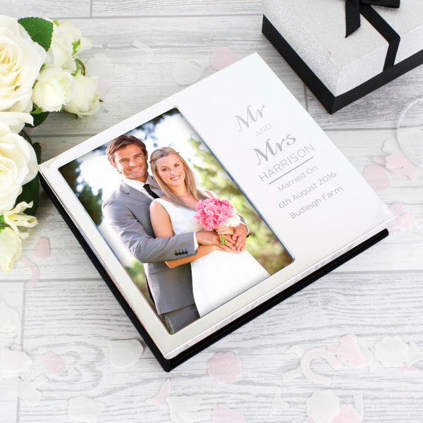 Personalised Classic Frame Album 6x4 - Shane Todd Gifts UK