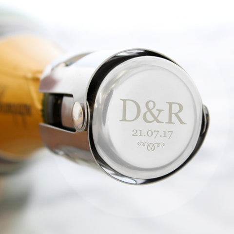 Buy Personalised Monogram Bottle Stopper