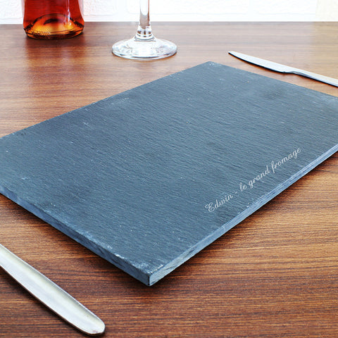 Buy Personalised Engraved Slate Placemat