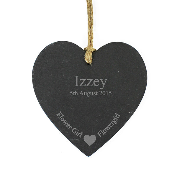 personalised-flowergirl-slate-heart-decoration