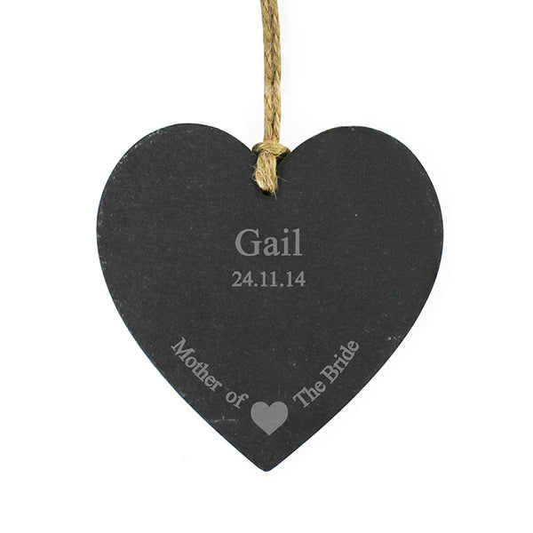 personalised-mother-of-the-bride-slate-heart-decoration