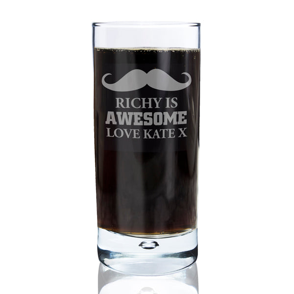 personalised-moustache-hi-ball-bubble-glass