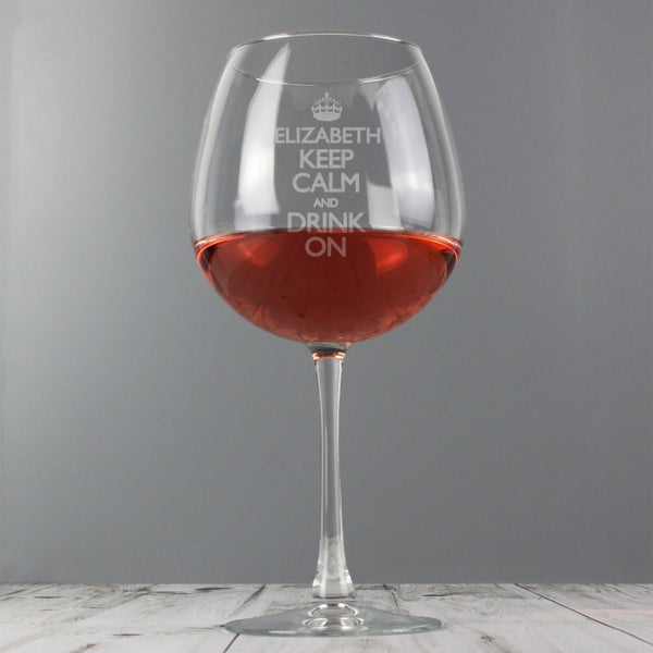 personalised-keep-calm-bottle-of-wine-glass