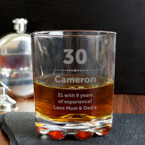 Personalised Birthday Star Tumbler