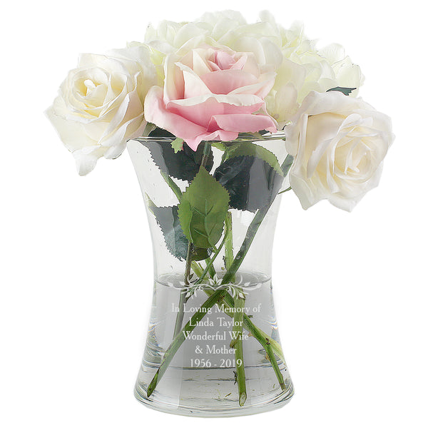 personalised-sentiments-glass-vase