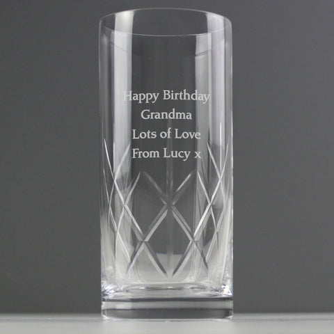 Personalised Crystal Hi Ball Glass | ShaneToddGifts.co.uk