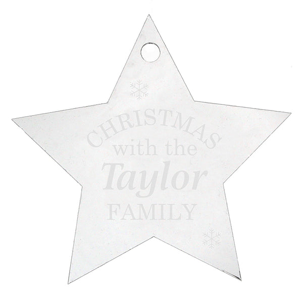 personalised-acrylic-christmas-star-decoration