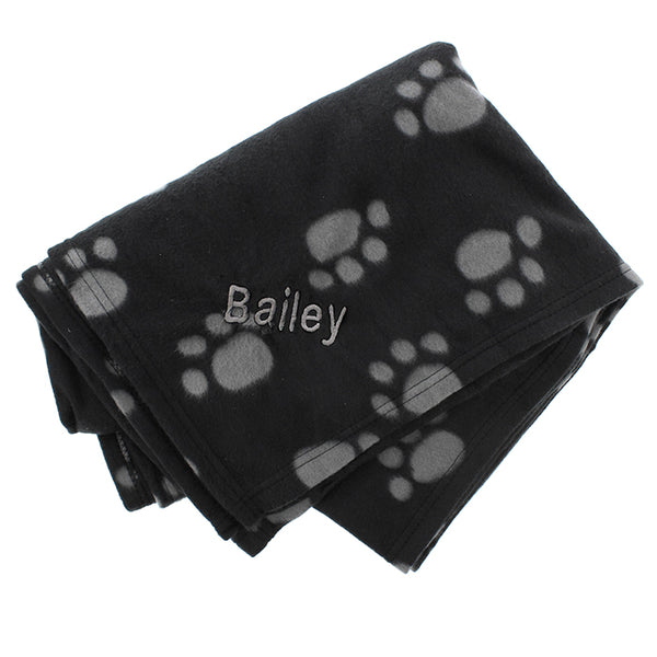 personalised-dog-paw-print-fleece-blanket