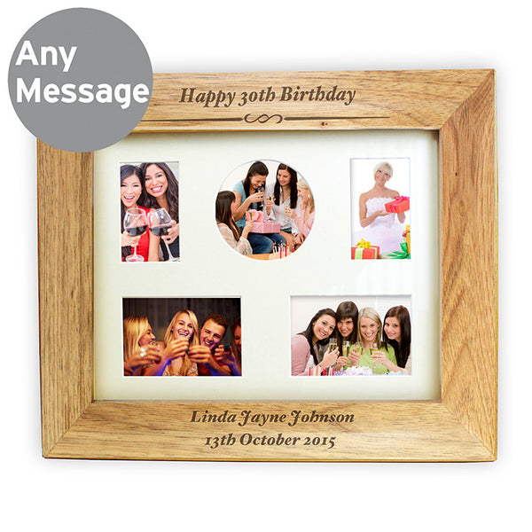 personalised-10x8-any-message-wooden-photo-frame