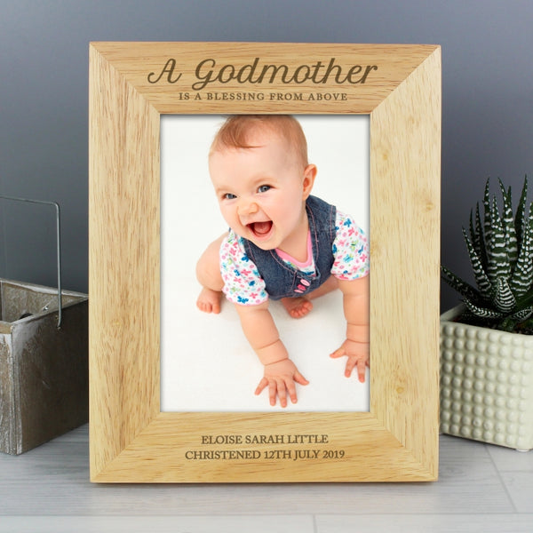 personalised-godmother-wooden-5x7-photo-frame