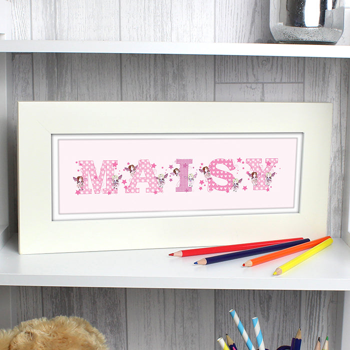 Buy Personalised FAIRY LETTER Name Frame