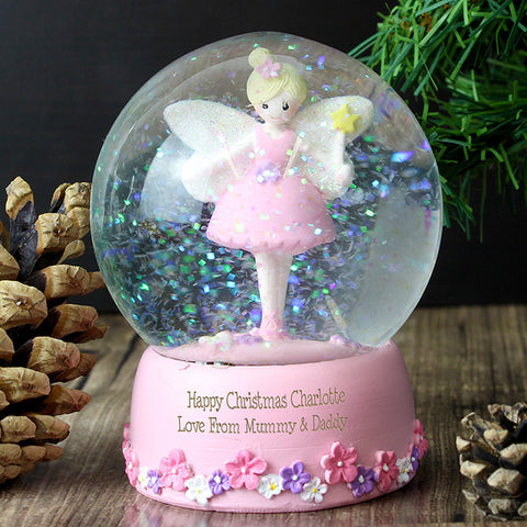 Buy Personalised Fairy Snow Globe