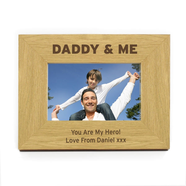 personalised-daddy-me-6x4-wooden-photo-frame