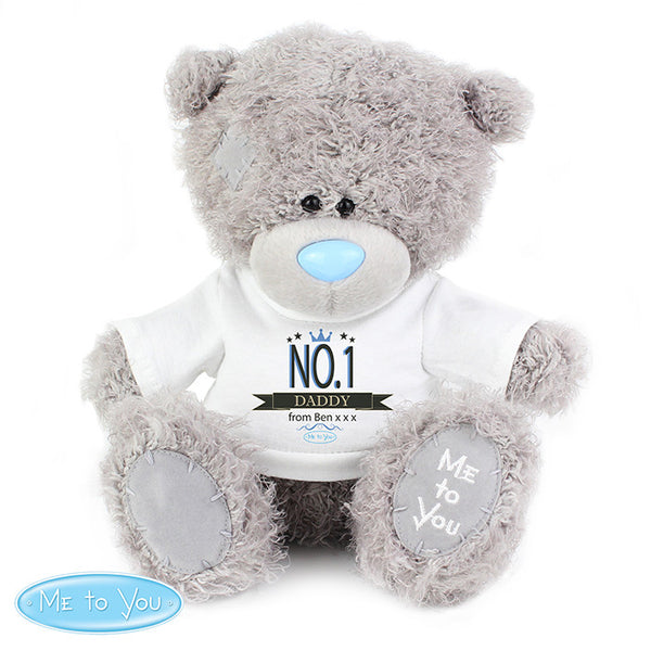 personalised-me-to-you-bear-with-no-1-t-shirt