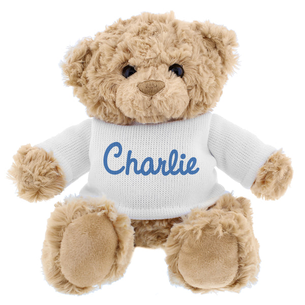 personalised-blue-name-only-teddy-bear
