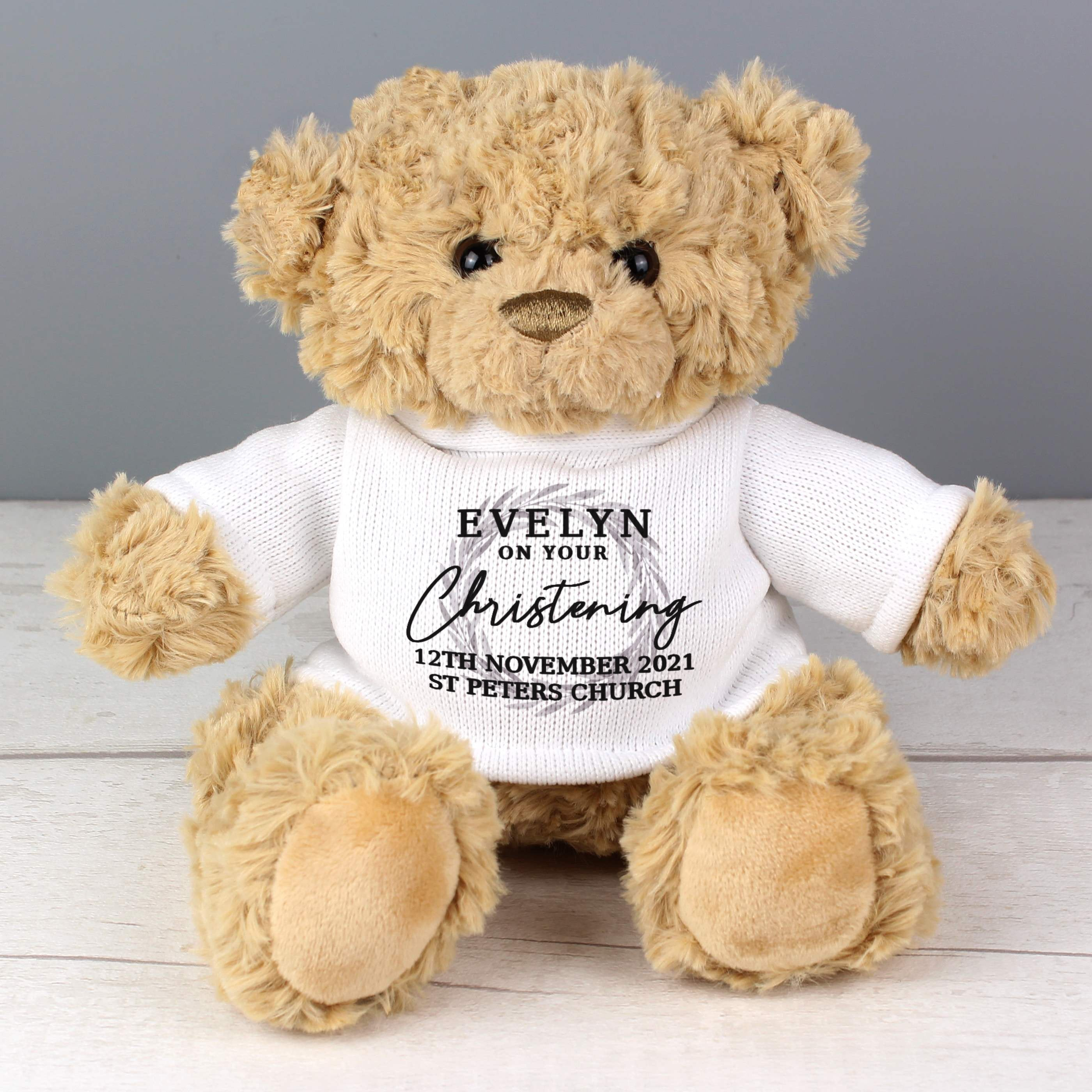 Personalised 'Truly Blessed' Teddy Bear, Toys & Games by Gifts24-7