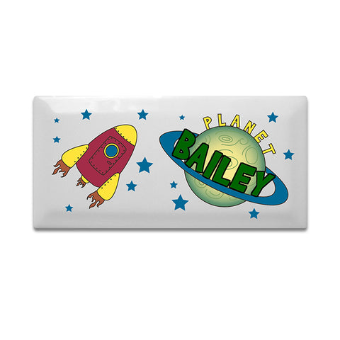 Buy Personalised Space Door Plaque