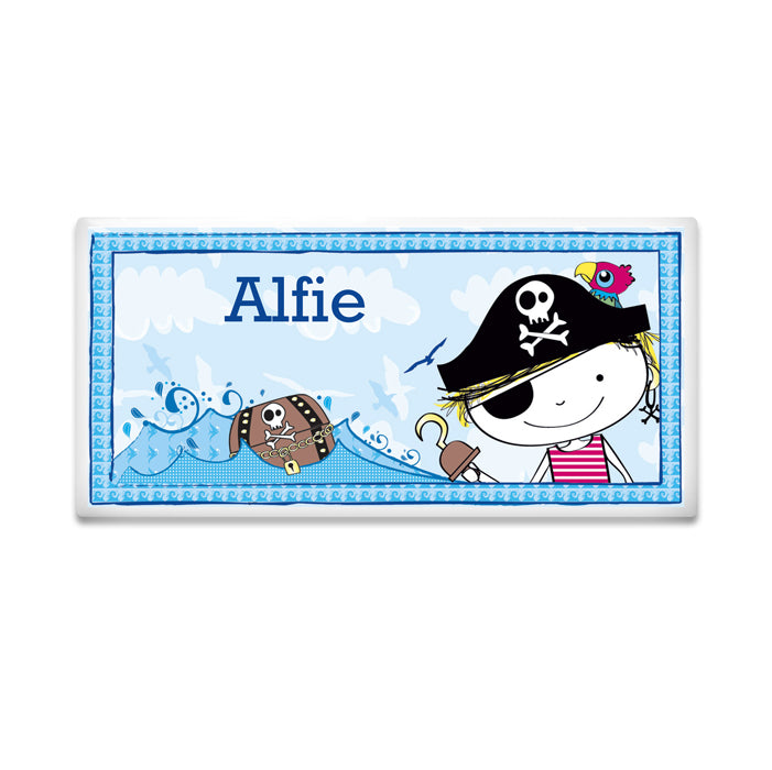 Personalised Pirate Letter Door Tile, Roofing Shingles & Tiles by Gifts24-7
