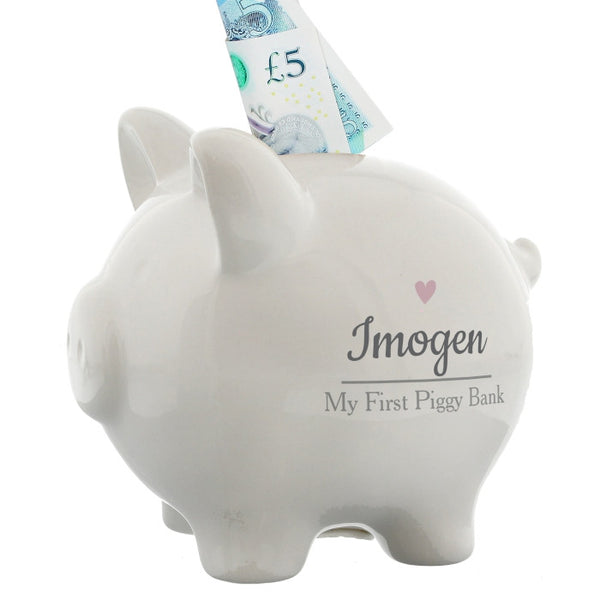 personalised-pink-heart-motif-piggy-bank