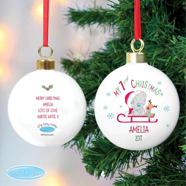 personalised-tiny-tatty-teddy-my-1st-christmas-sleigh-bauble
