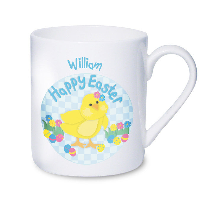 Personalised easter chick mug great gift ideas shane todd gifts uk personalised easter chick mug shane todd gifts uk negle Image collections