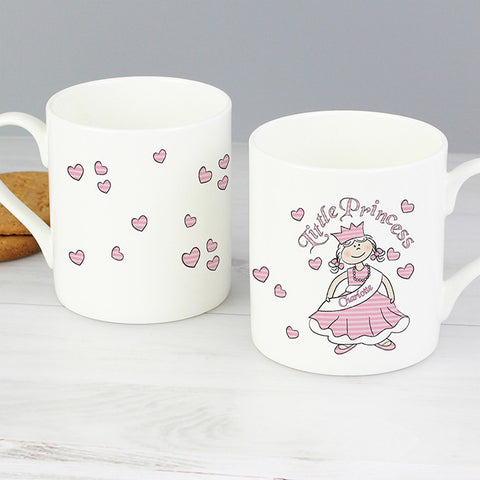 Personalised Little Princess Mug - Shane Todd Gifts UK