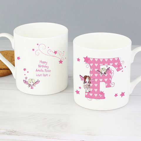 Buy Personalised Fairy Letter Balmoral Mug