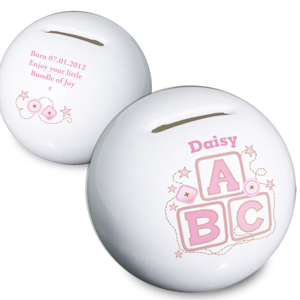 personalised-pink-abc-money-box