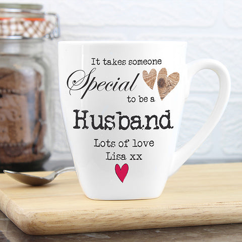 Buy Personalised Someone Special Latte Mug