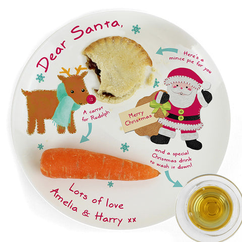 Buy Personalised Felt Stitch Friends Mince Pie Plate