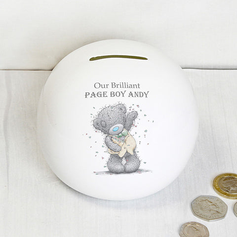Personalised Me To You Male Wedding Money Box | ShaneToddGifts.co.uk