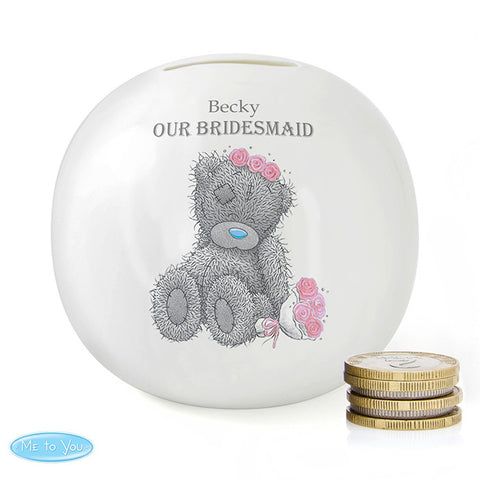 Personalised Me To You Girls Wedding Money Box - Shane Todd Gifts UK