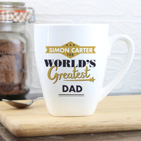 Personalised World's Greatest Latte Mug