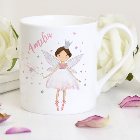 Personalised Fairy Princess Balmoral Mug - Shane Todd Gifts UK