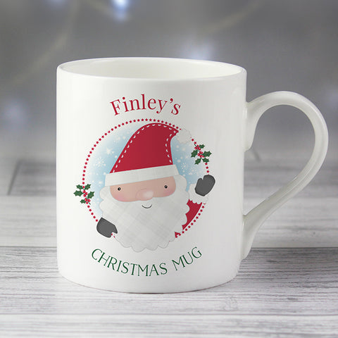 Buy Personalised Christmas Balmoral Mug
