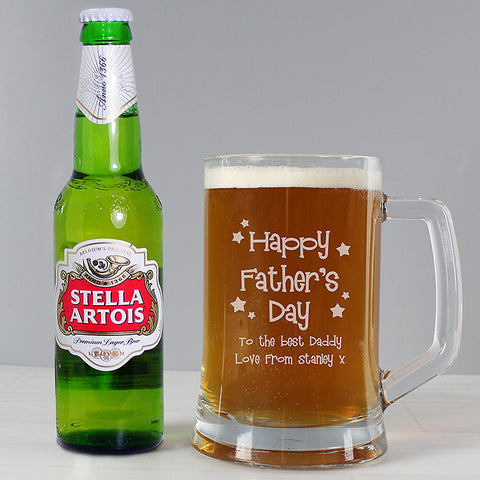 Buy Personalised Happy Father's Day Beer Set