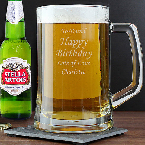 Personalised Stern Tankard & Beer Set | ShaneToddGifts.co.uk