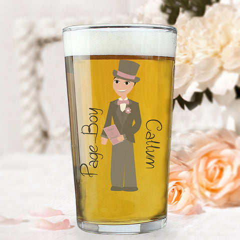 Personalised Fabulous Young Male Pint Glass
